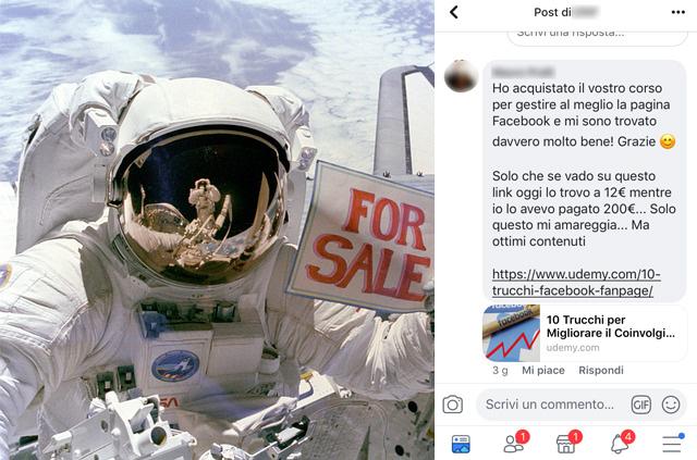 Venderebbero anche la Luna se fossero nello spazio