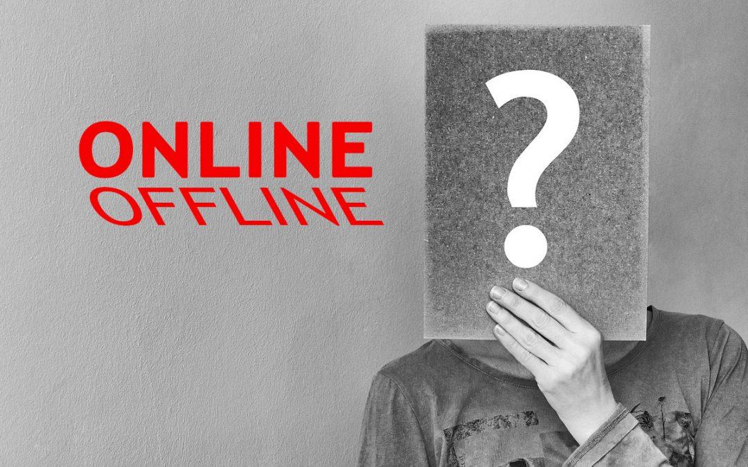 Online e Offline a percentuali ragionate