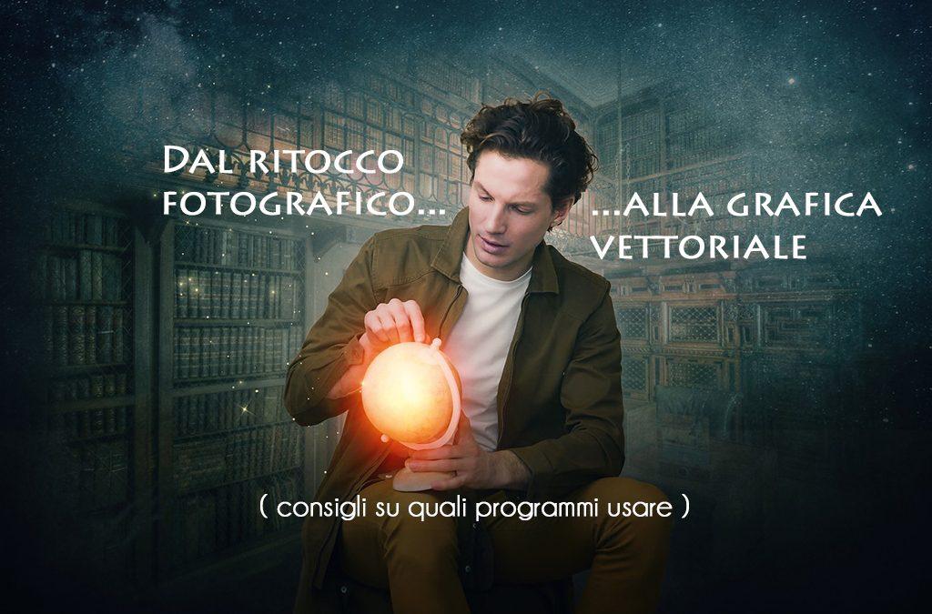 Dal ritocco fotografico alla grafica vettoriale: Photoshop e Illustrator