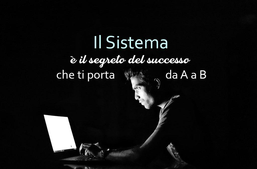Il Sistema è il segreto del successo che ti porta da A a B