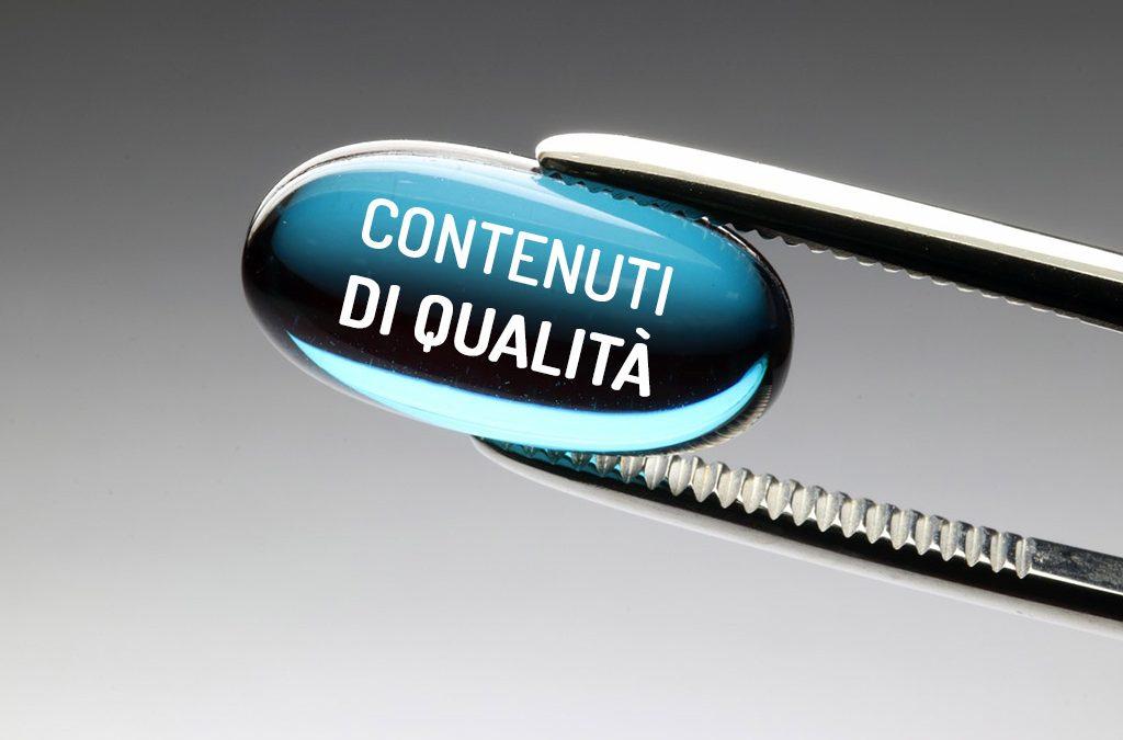 Contenuti di qualità per siti web di qualità