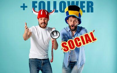 Più follower sui social