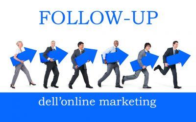 Follow-Up dell'online marketing