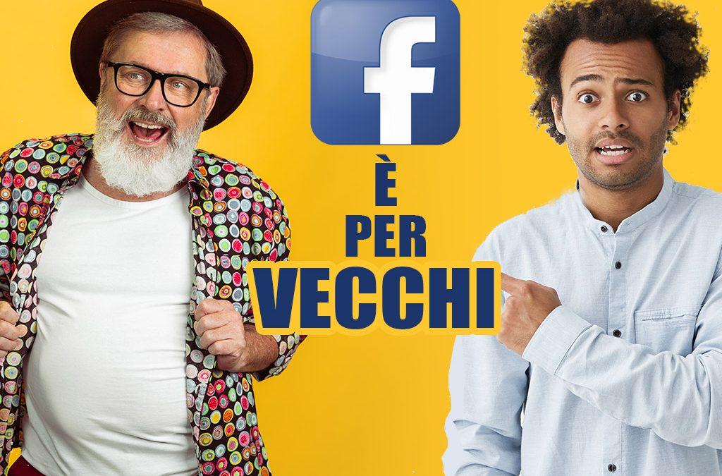 Facebook è per vecchi